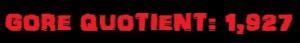 Dead Alive Gore Quotient Banner