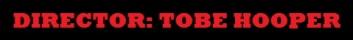 Tobe Hooper Banner