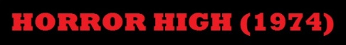 Horror High Title Banner